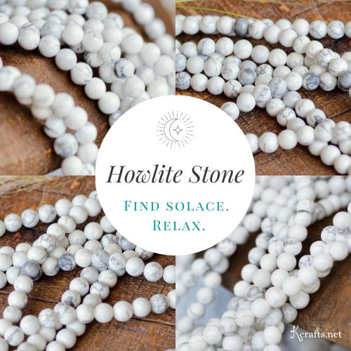collage of howlite stones