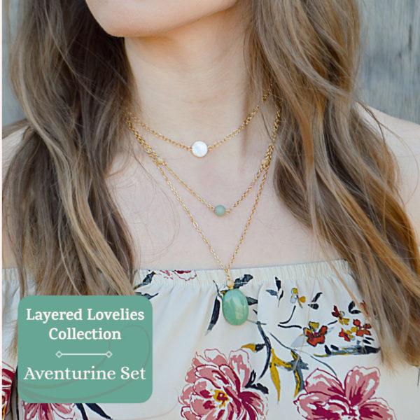 Layered Lovelies Aventurine Complete Set