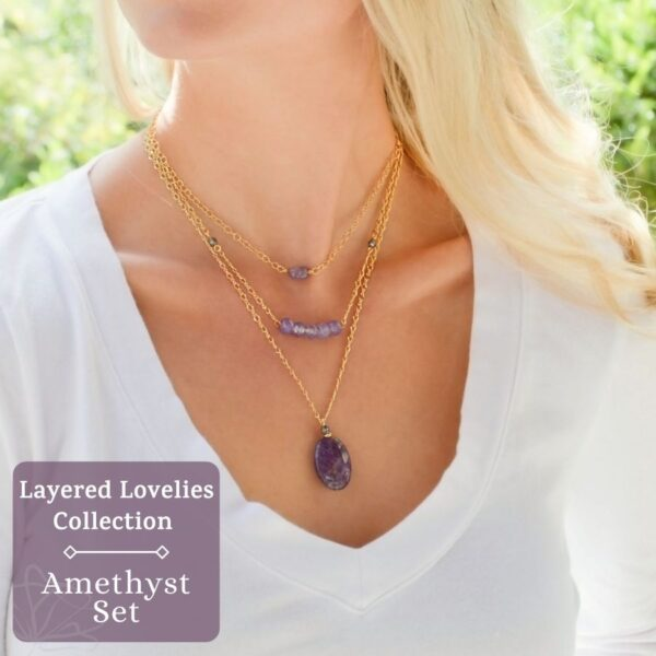Layered Lovelies Amethyst Complete Set