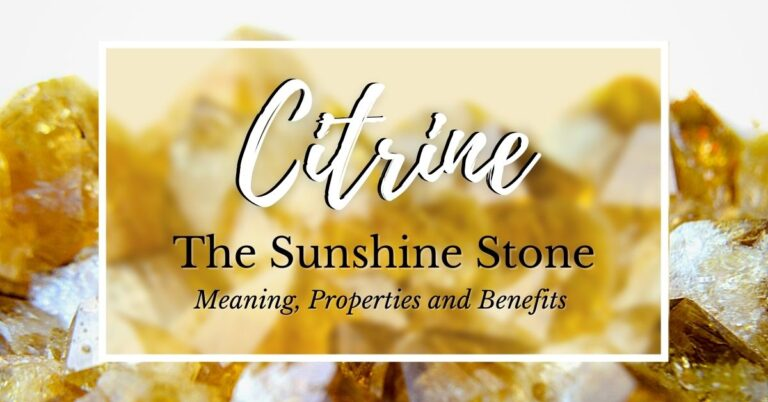 the meaning of citrine title banner