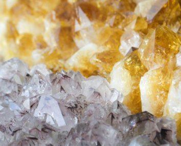 heat treated amethyst creates citrine crystals